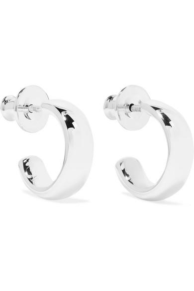 Fiji Sterling Silver Earrings by Monica Vinader