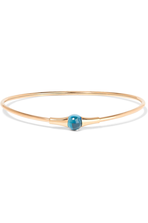 Pomellato M'ama non M'ama 18-karat rose gold topaz bracelet