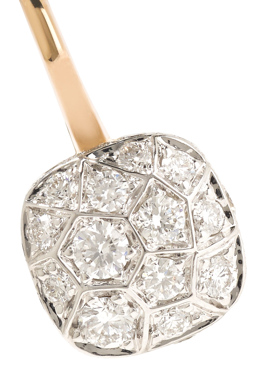 Pomellato Nudo Ohrringe aus 18 Karat Roségold mit Diamanten