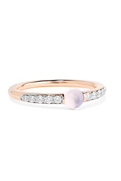 POMELLATO 18-karat Rose Gold Diamond Ring pAqInf1