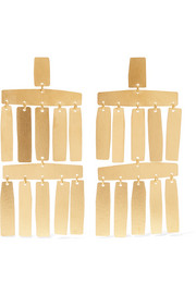 Roma gold-tone earrings