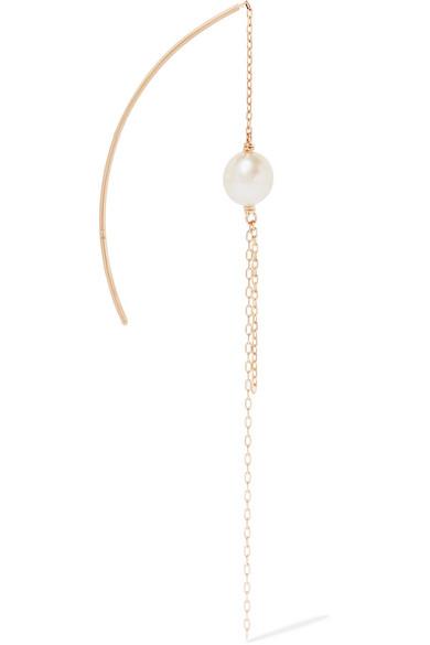 Hirotaka Toggle Chain 10-karat Gold Earring 8Un9cZ