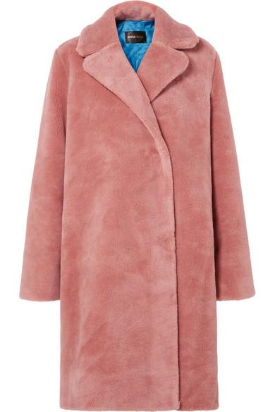 Stine Goya - Concord Faux Fur Coat - Pink