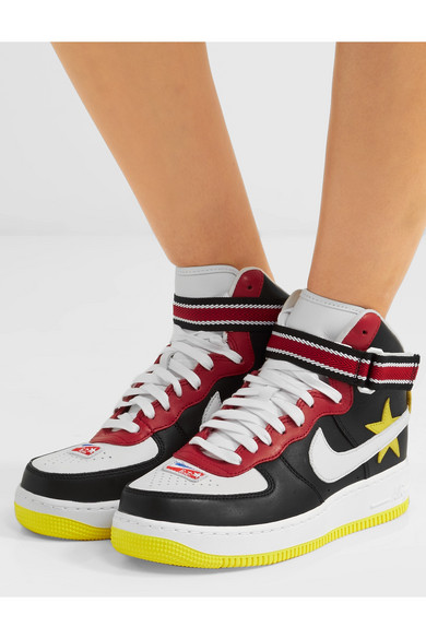 Nike | + High-Top-Sneakers Riccardo Tisci Air Force 1 High-Top-Sneakers + aus Leder 133d87