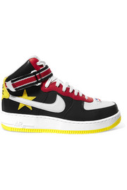 + Riccardo Tisci Air Force 1 leather high-top sneakers