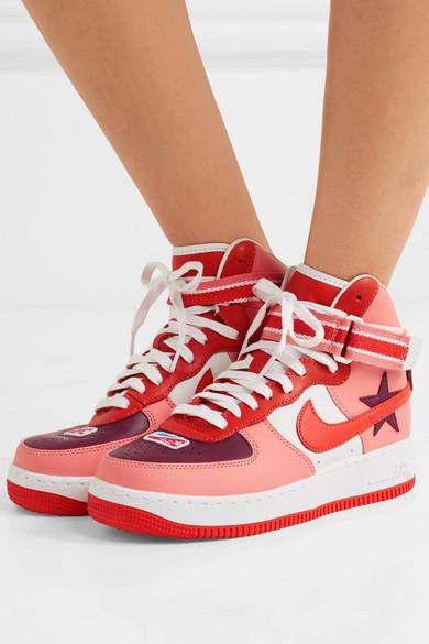 Nike | + Riccardo Tisci aus Air Force 1 High-Top-Sneakers aus Tisci Leder 4c4987