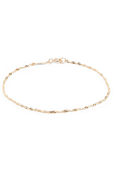 CATBIRD SWEET NOTHING 14-KARAT GOLD BRACELET