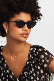 + Adam Selman The Last Lolita cat-eye acetate sunglasses