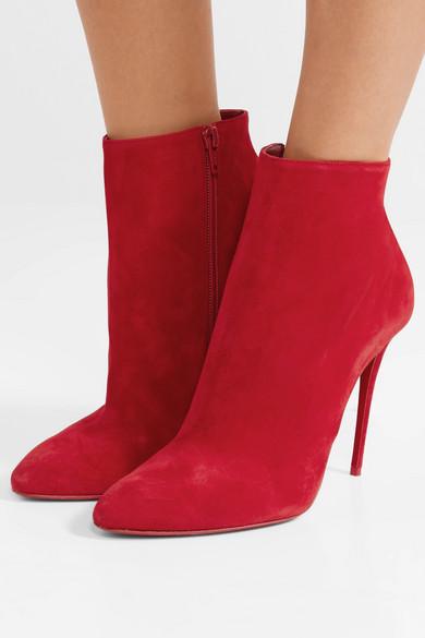 wholesale dealer f685a 2ec1b Christian Louboutin | Eloise 100 suede ankle boots | NET-A ...