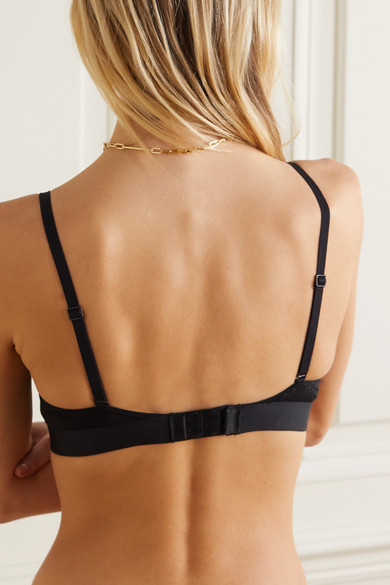 Calvin Klein Underwear. Stretch-jersey soft-cup triangle bra. £32. Zoom In e7c95021d