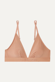 Calvin Klein Underwear Stretch-jersey soft-cup triangle bra