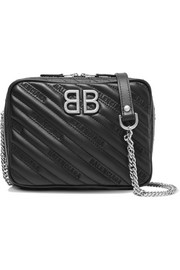 Balenciaga BB Reporter XS quilted leather shoulder bag