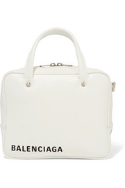 Balenciaga Triangle Square XS AJ printed leather shoulder bag
