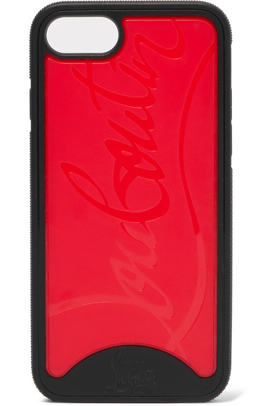 b96db7cf0dee Christian Louboutin. Loubiphone embossed PVC iPhone 7 and 8 case