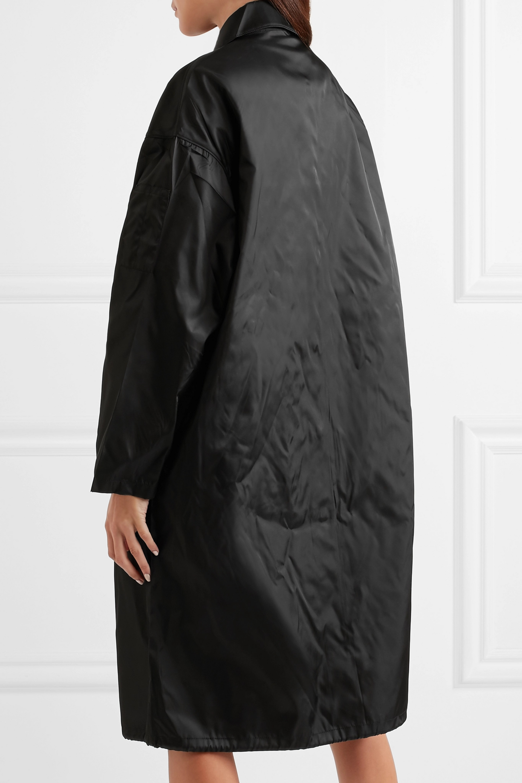 Prada Shell hooded coat