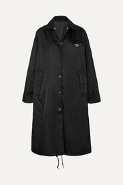 Prada Shell hooded coat