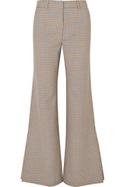 Paul & Joe Houndstooth tweed flared pants
