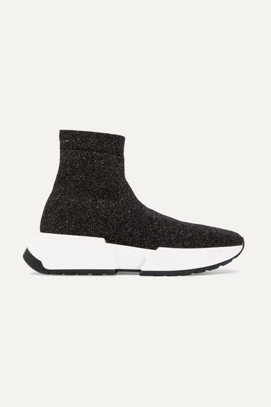 Lurex Sneakers, T8013 Black
