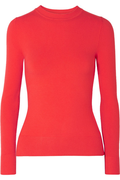 JOOSTRICOT STRETCH COTTON-BLEND SWEATER