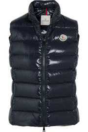 Ghany quilted shell down gilet