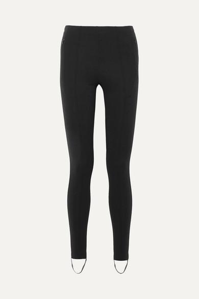 f8c28a5b9185 Balenciaga Jogger Fuseau Stretch-Ponte Stirrup Leggings In Black ...