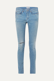 Balenciaga Distressed high-rise skinny jeans