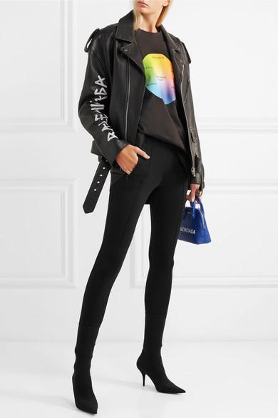 9002246d9 Balenciaga   Oversized printed cotton-jersey T-shirt   NET-A-PORTER.COM