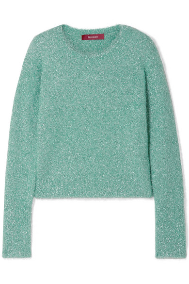 Sies Marjan - Lurex Sweater - Mint