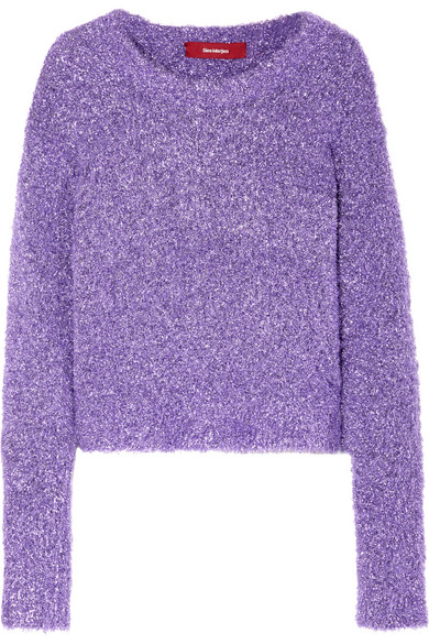 Sies Marjan - Courtney Lurex Sweater - Violet