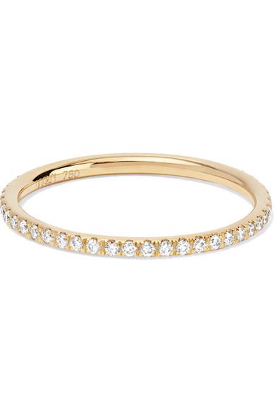 Thread 18-karat Rose Gold Sapphire Ring - 54 Ileana Makri xZmTJR