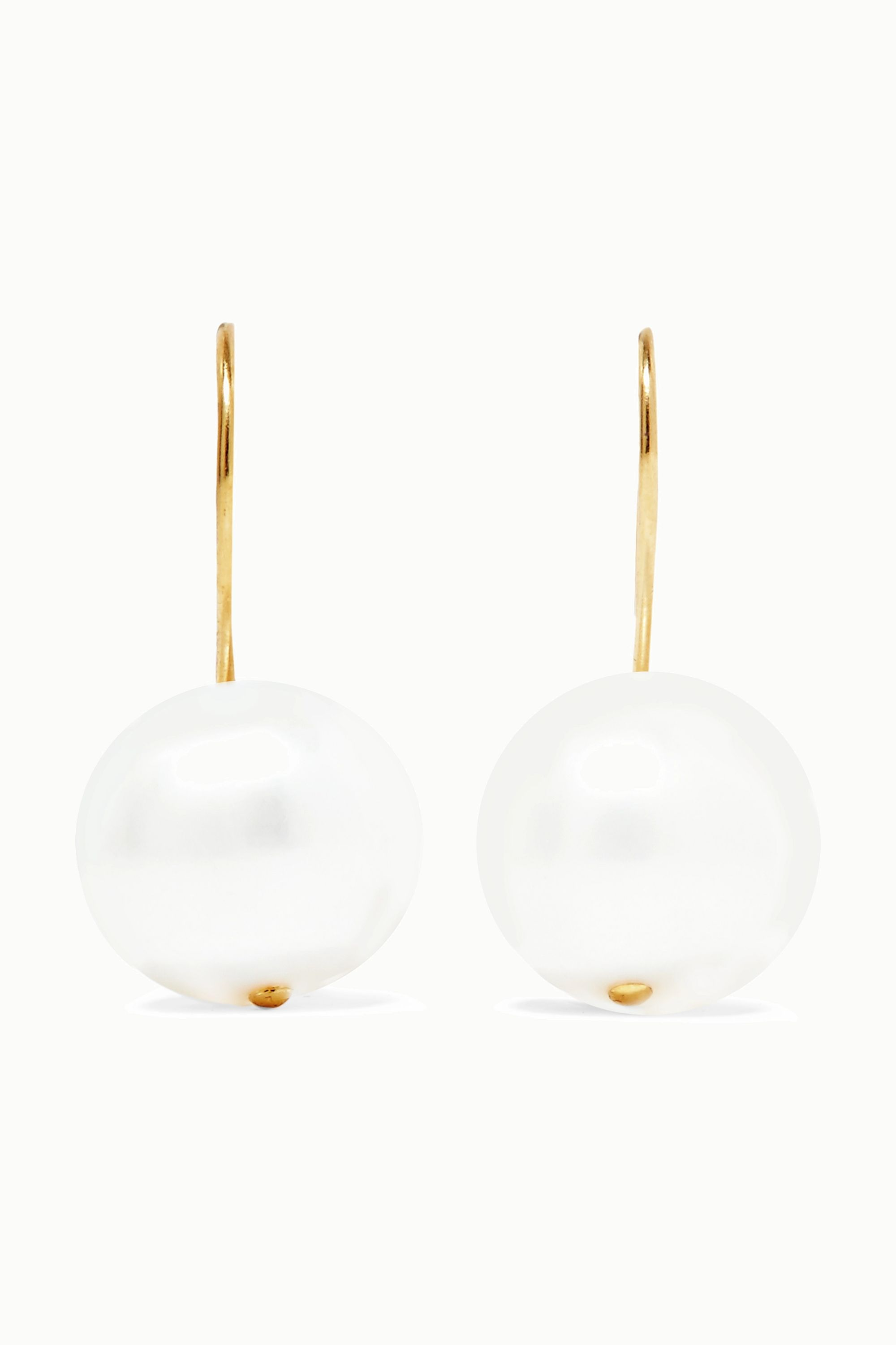 Aurélie Bidermann Cheyne Walk gold-plated pearl earrings