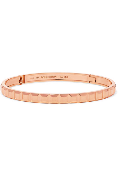 Boucheron Quatre Clou De Paris 18-karat Rose Gold Bracelet EaYJTnMek