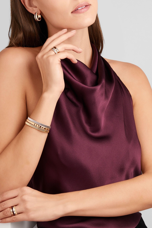 Boucheron Quatre Grosgrain 18-karat gold bracelet