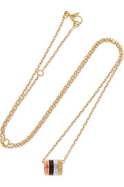 Quatre Classique 18-karat gold diamond necklace