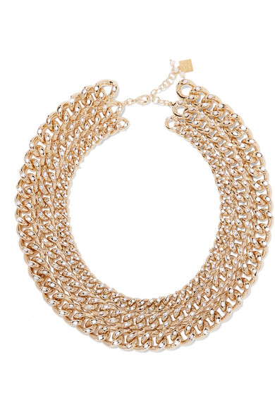 Ingranaggio Gold-tone Pearl Necklace - one size Rosantica 7nCboes