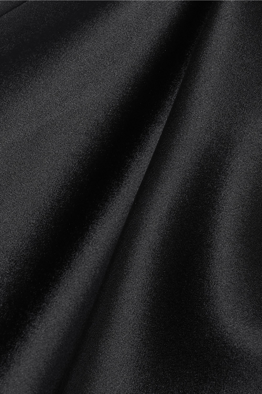 Nanushka Regina tie-front cutout satin midi dress