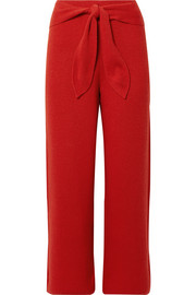 Nanushka Tigre cropped ribbed-knit pants