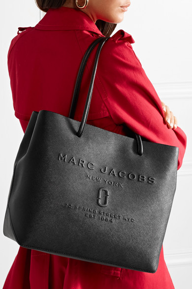 Marc Jacobs Embossed Textured Leather Tote