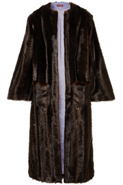 Marcel faux fur coat