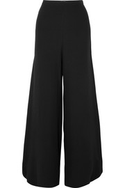 Ramon crepe de chine wide-leg pants