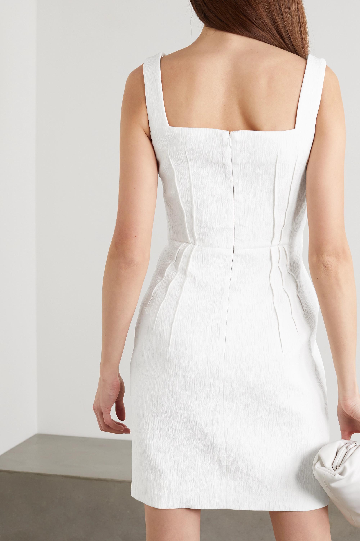 Emilia Wickstead Judita cloqué mini dress