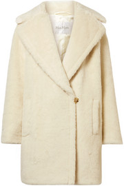 Max Mara Robinia alpaca, wool and silk-blend coat