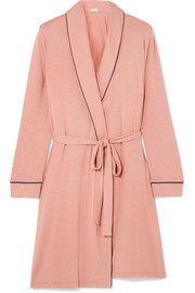 Gisele stretch-modal jersey robe