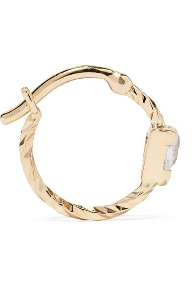 Maria Black Viper 14-karat Gold Sapphire Ring 982vKmtf