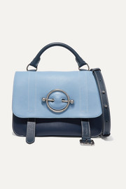 JW Anderson Disc two-tone leather shoulder bag