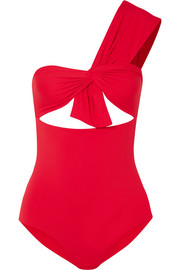 Marysia Venice Maillot one-shoulder cutout swimsuit