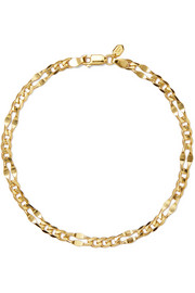 Dean gold-plated anklet