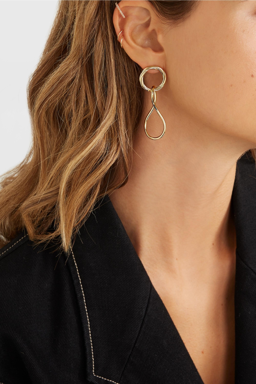 Maria Black Elna and Alvilda gold-plated earrings