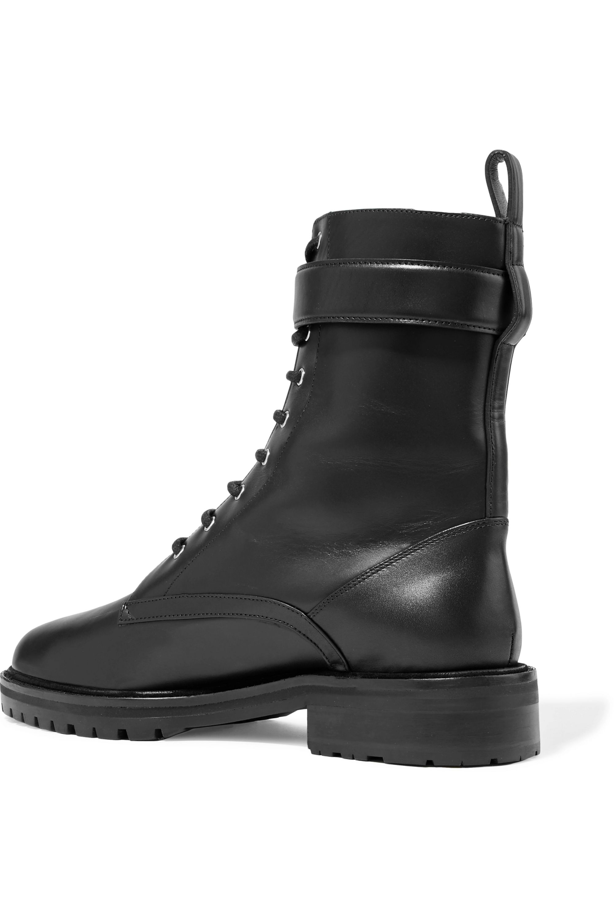 Black Max leather ankle boots   Tabitha