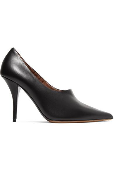 TABITHA SIMMONS OONA LEATHER PUMPS